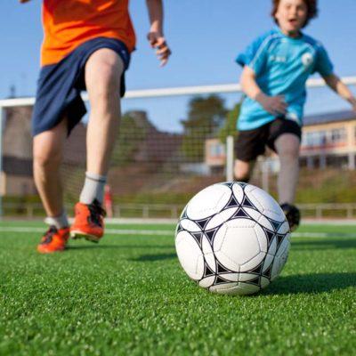Auftakt zu den Fußball Camps in den Sommerferien bei besten Bedingungen