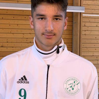 Noah Haller ist jetzt Perspektiv Coach der Schwarzwälder Fußballakademie
