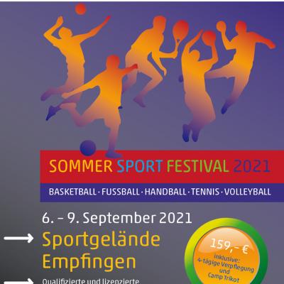 Das Sommer Sport Festival mit fünf Ballsport Camps in einem