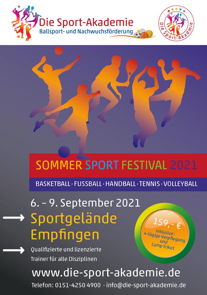 Fussballakademie Sommer Camp Empfingen 2021